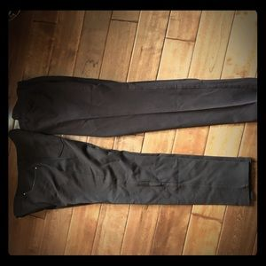 2 pairs of Chico So Slimming brown pants. Size 1